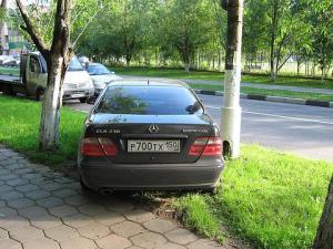 Штраф за парковку на газоне 2018 москва