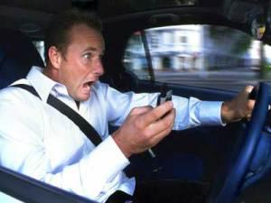 использование телефона за рулем