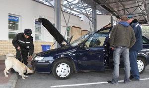 досмотр автомобиля