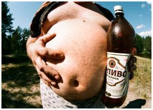 толстяк и пиво
