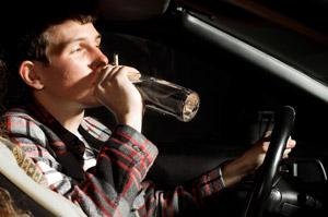 несовершеннолетний за рулем пьяный