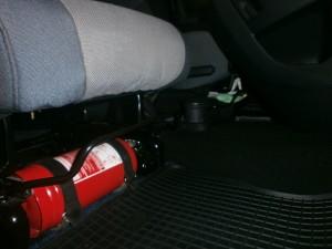 огнетушитель в машине
