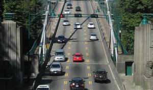 реверсивное движение на мосту