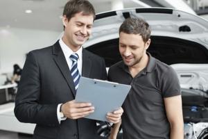 Алгоритм действий при покупке авто в кредит из автосалона