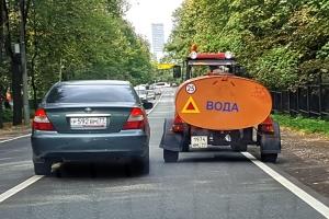 Спорная ситуация: водитель наехал, но не пересек сплошную. Оштрафуют ли его