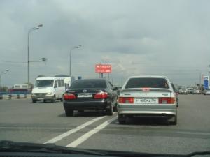 Автомобилист выехал на встречную полосу движения
