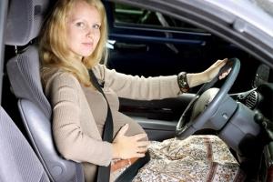 Можно ли водить автомобиль беременным