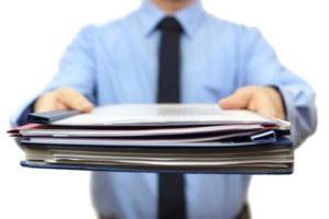 Общий порядок оформления документов