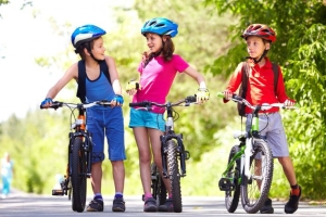 Особенности движения юных велосипедистов