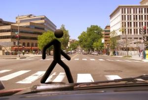 Движение пешехода