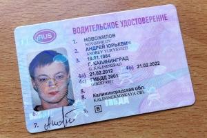 Серия и номер водительского удостоверения - где посмотреть?