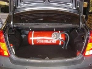 Можно ли поставить на учет автомобиль с газовым оборудованием