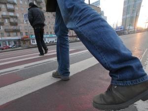 Правила ПДД: уступи дорогу пешеходу