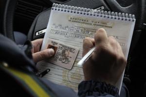 Процедура отстранения от вождения автомобилем